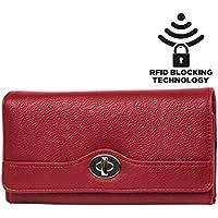 Mundi file Master Womens RFID a portafoglio Organizer con tasca