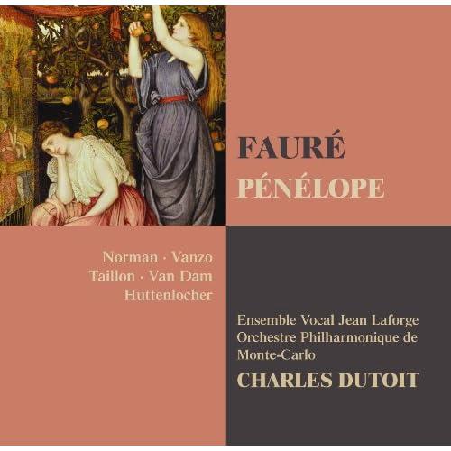 """Pénélope : Act 1 """"Les fuseaux sont lourds, le palais est sombre"""" [Servantes, Mélantho, Cléone, Alkandre, Phylo, Lydie]"""