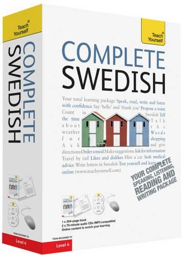 Complete Swedish Book/CD Pack: Teach Yourself: Learn to read, write, speak and understand a new language with Teach Yourself (Teach Yourself Complete)