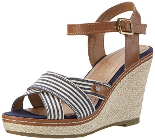tom-tailor-womens-2799007-open-toe-sandals-blue-size-5-uk