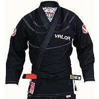Valor Victory 2.0 Premium Lightweight BJJ GI Black | Free Drawstring GI Bag