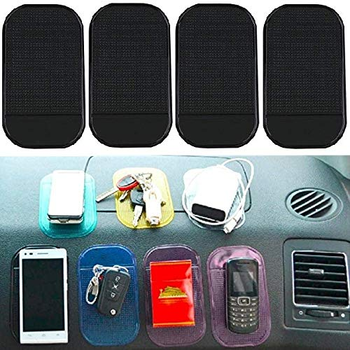 Boolavard 10 x Auto Anti-Rutsch-Anti-Rutsch-Matte Magic Dashboard Sticky Pad Mobile GPS-Telefon-Halter