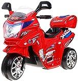 BSD Elektromotorrad für Kinder Elektrisch Ride On Kinderfahrzeug Elektroauto Motorrad - F938 - Rot