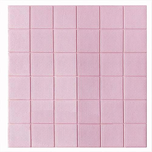 K&F-qianzhi 3D Wallpaper - Wandaufkleber Selbstklebende PE-Schaum Baumwolle Wasserdicht Und Hitzebeständig Schlafzimmer Home Office 60 * 60cm (Size : 15pcs)