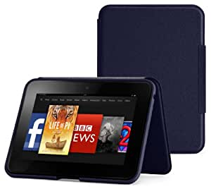 "Amazon Kindle Fire HD 7"" Standing Leather Cover, Ink Blue (will only fit Kindle Fire HD 7"" [Previous Generation])"