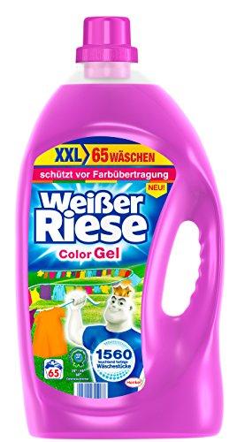 Weißer Riese Color Gel, 1er Pack (1 x 65 Waschladungen)