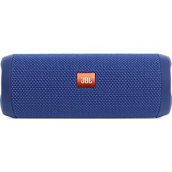 JBL FLIP 4 (Ein voll ausgestatteter, wasserdichter und mobiler Bluetooth-Lautsprecher mit überraschend kraftvollem Sound) blau
