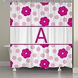 Duschvorhang polyester-Vorhänge 167,6x 182,9cm-Badezimmer Hot Girl Sexy Frauen mit Schöne Brüste Set mit Stufenmatten Teppiche 23,6x 15,7inch-12Haken
