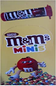 M & M's Chocolate Candy Tubes, Box of 24 Pieces (24 x 30.6g)