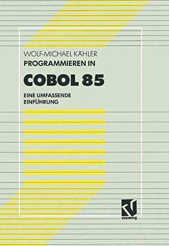 Programmieren in Cobol 85 Suchen In 6 Sprachen