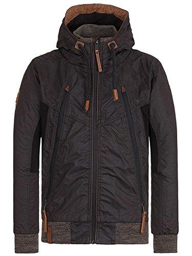 Naketano Male Jacket Mittagsmarder III Black