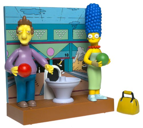 the-simpsons-world-of-springfield-interactive-bowling-alley-with-marge-and-jacques