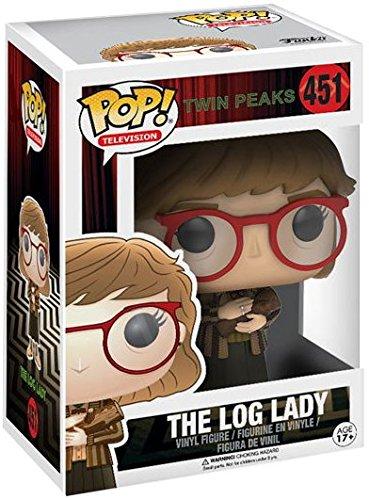 Twin Peaks Log Lady POP Vinyl Figure