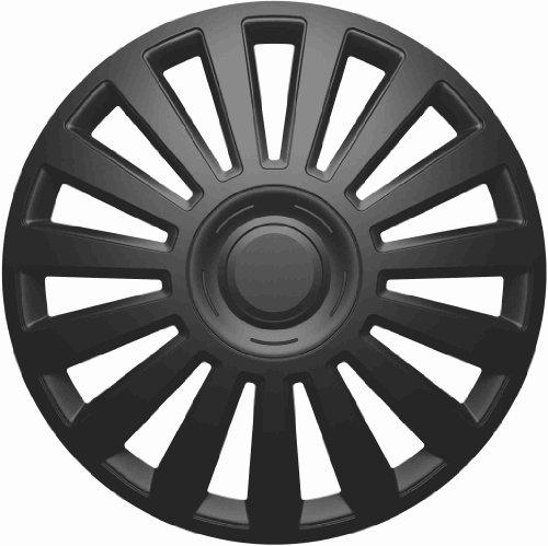Universal Radzierblende Radkappe Luxury schwarz 14
