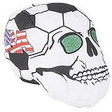 RIN001 Lot de 12 têtes de Mort pour Balle de Football américain 22,9 cm
