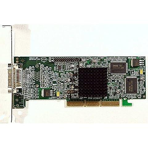 AGP-scheda video Matrox G45FMLDVA32DB Dual-DVI 32MB ID163