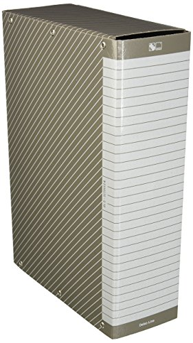 Esselte 390310040 Kartonmappe zur Archivierung von Langzeitbelegen, A4, 10 cm Rücken, plastifizierte Fibrone