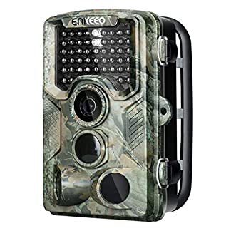 "ENKEEO PH760 Game Camera 1080P 16MP HD Trail Camera Wildlife Hunting 47pcs 850nm IR Night Vision IP56 Water Resistant with 0.2s Trigger Time 2.4"" LCD Screen"