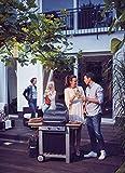 Enders BBQ Gasgrill BALTIMORE, Gas Grill 81496, 2 Guss-Brenner, Grillwagen mit Deckel, Thermometer, Warmhalterost, stabile Seitenablage - 4