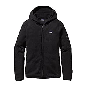 Patagonia Better Sweater Hoody Jacket Women - Fleecejacke mit Kapuze, Black, S