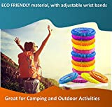 PREMIUM Mosquito Repellent Bracelets 14 Pack Up to 300 Hours-Botanical Essences - All Natural, Deet Free and Waterproof Bands for Adults and Children Outdoor KEEP MOSQUITOES AWAY NOW!