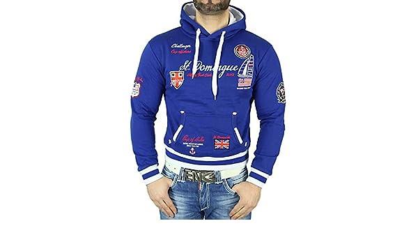 Baxboy Herren Kapuzen Pullover Hoodie Longshirt JP A011 G