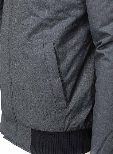 Sublevel Homme veste d'hiver New York Capot Bleu foncé