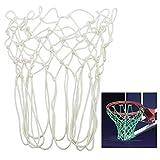 Trixes Fluoreszierendes im Dunkeln Leuchtendes Basketballnetz mit 12 Schleifen