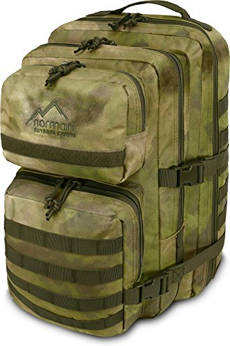 normani US Assault Pack Large, Rucksack, 50 Liter Farbe Tac -