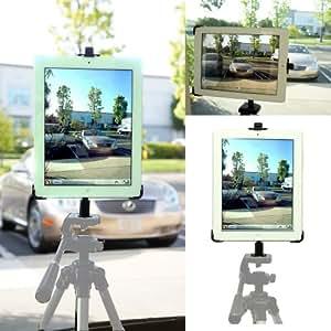 ChargerCity Apple iPad 2 3 4 trépied monopode caméra vidéo d'enregistrement 1/4-20 Mount Adapter avec désigné ipad 2ème 3ème porte berceau de 4ème génération (iPad & trépied doit être vendu séparement)