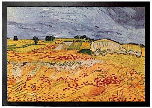 Vincent Van Gogh - Paisaje En Auvers, 1890 Felpudo Alfombrilla (70 x 5