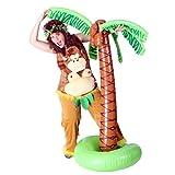 shoperama Lustige Plüsch-Latzhose Crazy Monkey Kostüm Affe Straßenkarneval Gorilla Junggesellenabschied JGA, Größe:L/XL