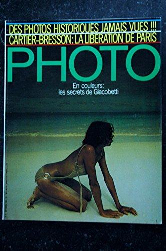 PHOTO 024 LES SECRETS DE FRANCIS GIACOBETTI CARTIER BRESSON LIBERATION BAURET NUS par Les Trésors d Emmanuelle