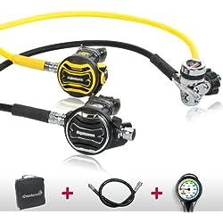 Apeks respiratoires Régulateur XTX 200XTX 40Confort Set–Testé et monté