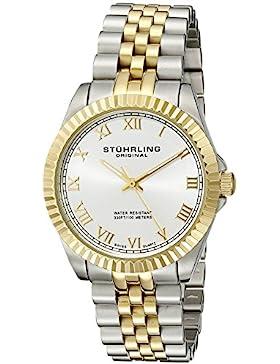 Stuhrling Original 530.11EW3 Damen-Armbanduhr Analog Quarz Edelstahl