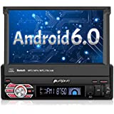 Autoradio 1 Din Android 6.0 Ecran Tactile 7 Pouce Quad Core 1.6GHz Résolution 800 * 480 Supporte Bluetooth 3G Wifi DAB Commande au Volant RDS Radio OBD2 Mobile link