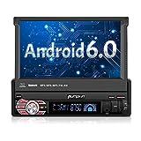 Autoradio 1 Din Android 6.0 Ecran Tactile 7 Pouce Quad Core 1.6GHz Résolution 800 * 480 Supporte Bluetooth 3G Wifi DAB Commande au Volant RDS Radio OBD2 Mobile link