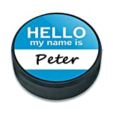 EISHOCKEY Puck Hello My Name Is pa-pu, Peter Hello My Name Is