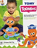 TOMY Toomies Octopus Ball Toy - Spinning Baby Ball Toy - Suitable From 1 year