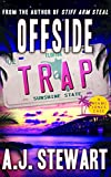 Front cover for the book Offside Trap by A. J. Stewart