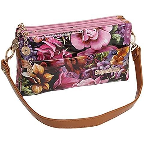 borsa a tracolla Ms./busta di moda/pacchetto diagonale/Zipper Clutch