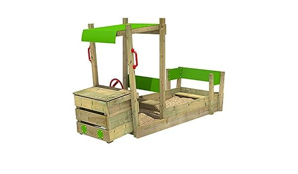 Fatmoose Klettergerüst Cleverclimber Club Xxl : Fatmoose sandkasten powerpulley buddelkiste sandbox im truck