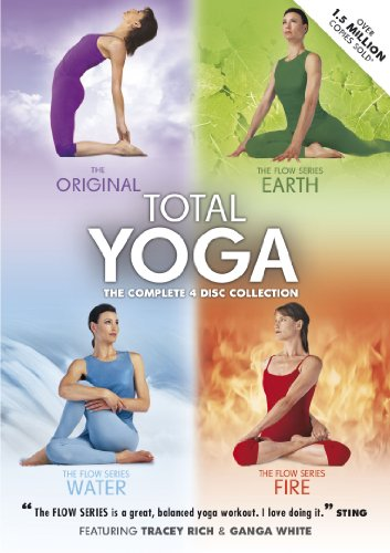 Total Yoga Collection - 4 Disc Box Set [Reino Unido] [DVD]