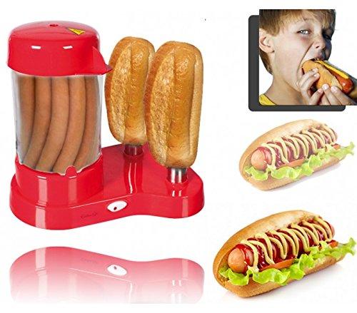 Macchina per preparare veri hot dog americani cuoci panini e