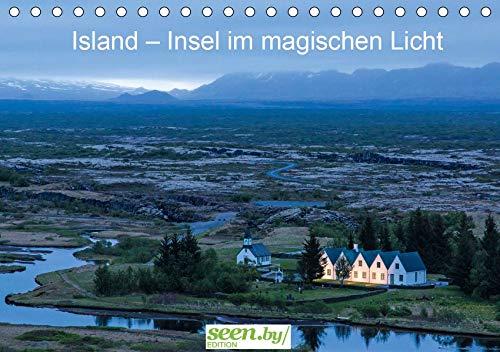 Island - Insel im magischen Licht (Tischkalender 2020 DIN A5 quer): Die schönsten Bilder aus einem Land von Feuer und Eis (Monatskalender, 14 Seiten ) (CALVENDO Natur)
