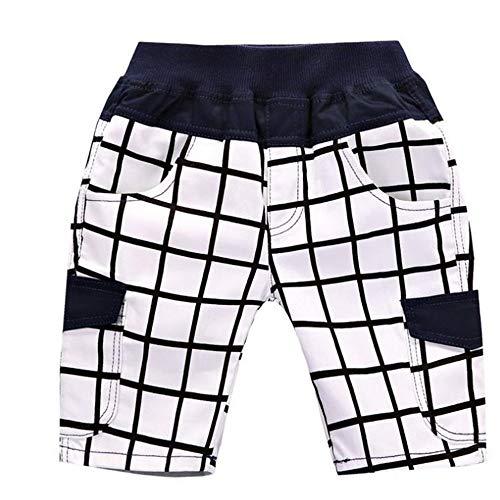 ZHOUJINGTIAN Pantaloncini da Donna Pantaloncini per Ragazzi Estate Pantaloni per Bambini A-25 120cm