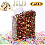 SUPERSUN perle d'acqua gel 55000 pezzi - acqua beads perline gelatina per piante - jelly Terreno di cristallo per decorazione di Vaso, matrimonio, a casa