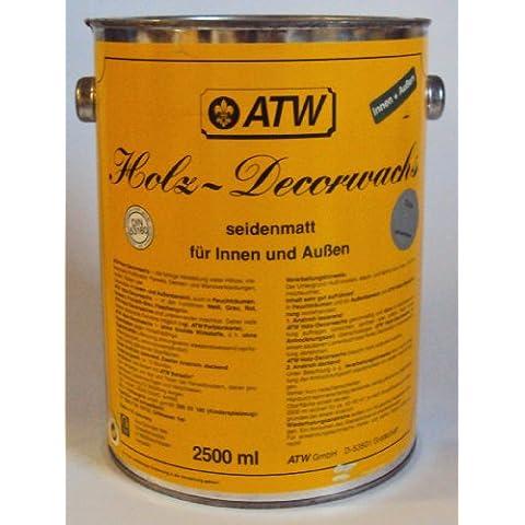 750 ml ATW bel.de-Decorwachs, bottiglie verde, (Verde 750ml Bottiglia)