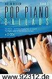 Edition Hage Pop Piano Ballads Band 3 - mit 2 CD's