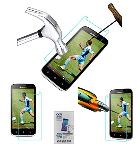 Acm Tempered Glass Screenguard for Lenovo A859 Screen Guard Scratch Protector  available at amazon for Rs.179